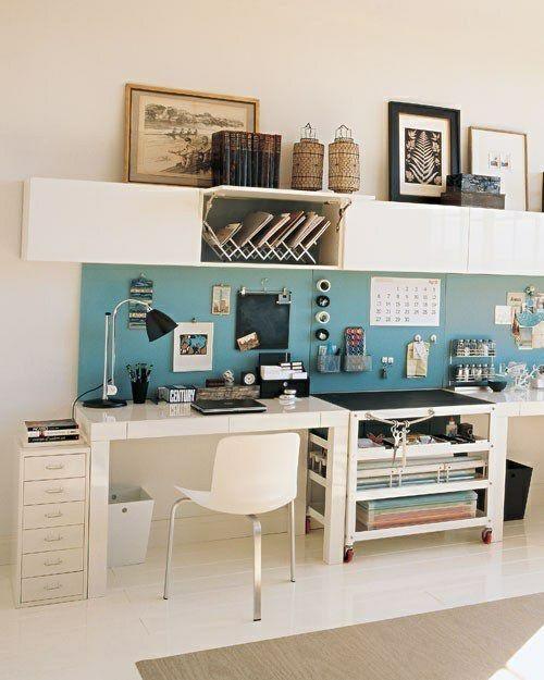 Schlaue Arbeitsplatzgestaltung Mit Mehr Stauraum Dekoration Diy Ikea Zuhause Hausburo Organisation Wohnung Einrichten