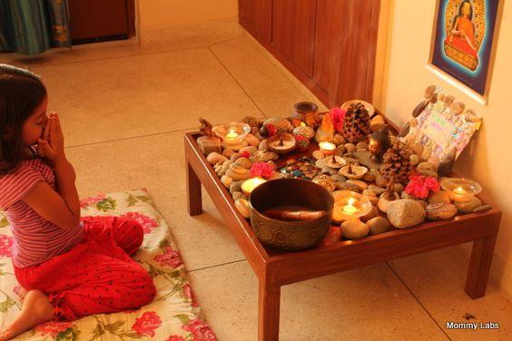 Our Spiritual Garden Cum Nature Table For Peace