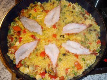 Paella all a tomste - Rezept