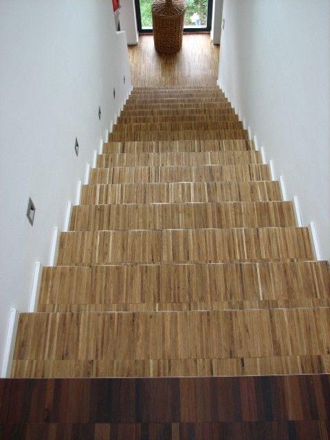 treppe mit industrieparkett belegt. Black Bedroom Furniture Sets. Home Design Ideas
