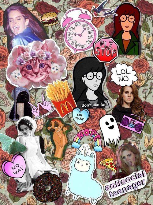 Resultado de imagen para tumblr collage hipster