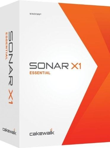 Cakewalk's SONAR X1 Essential has a completely redesigned user interface that makes creating music faster and easier than ever. Get it at ReggaeSoftware.com
