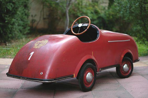 1950 Porsche Speedster Pedal Car
