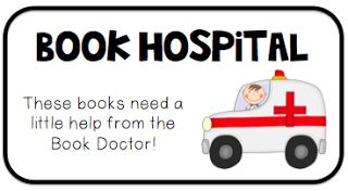 I'm making two bins that I've never had before. A book hospital for when students find books in need of repair. I'll also be making a lost and found bin for those little misplaced items that always appear in the room. :)