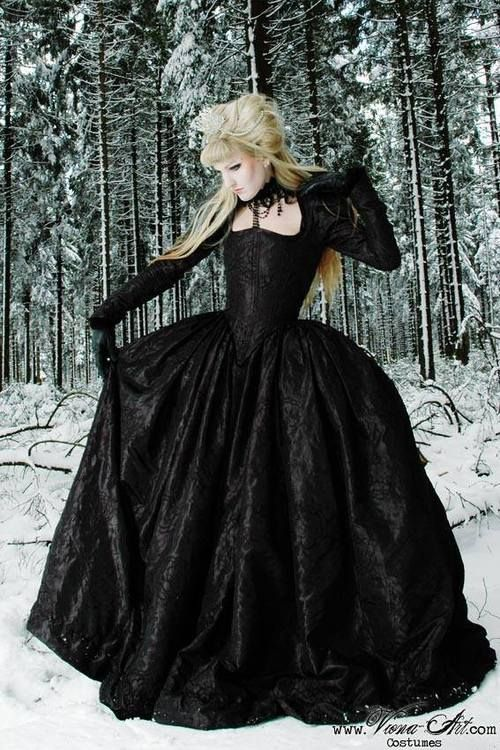 Black gothic dress tumblr