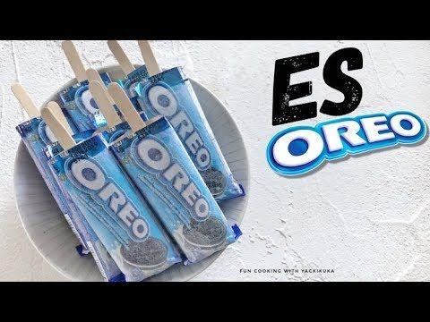 Es Oreo Oreo Ice Sticks Youtube Oreo Resep Es Krim