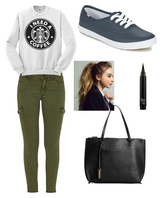 """""""Something I'd probably wear irl"""" by qatie-hitchcock on Polyvore featuring Mother, Street Level and Keds"""