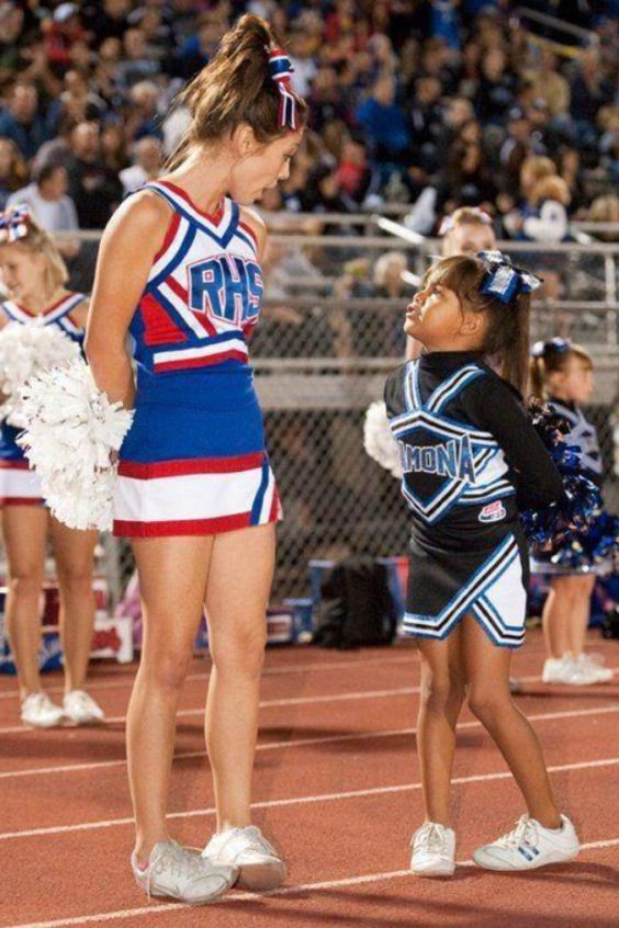 There's the little girl that wants to be just like you... don't let her down