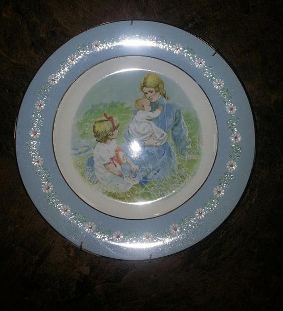 Avon Tenderness Commermorative Collectable Plate  by RosiesHut, $20.00