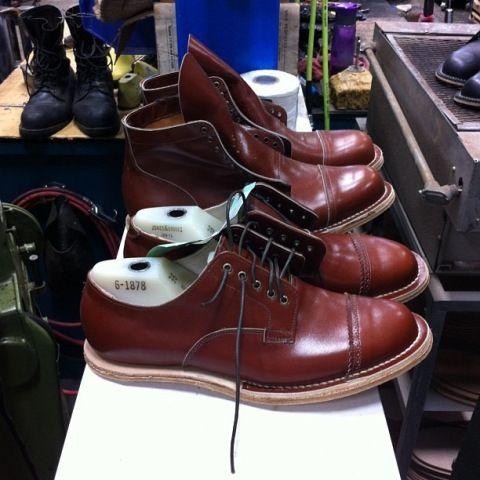Viberg Boot and Shoe
