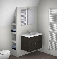 Toilets tes and design on pinterest - Badkamer onder het dak ...