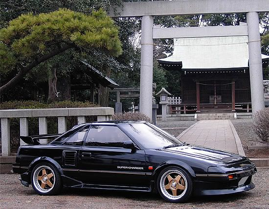 Supercharged AW11 MR2 | Possible future project cars | Pinterest ...