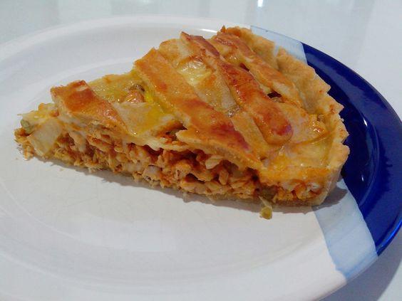 """""""Manjares da Manu"""": TORTA DE FRANGO!!!!!!"""