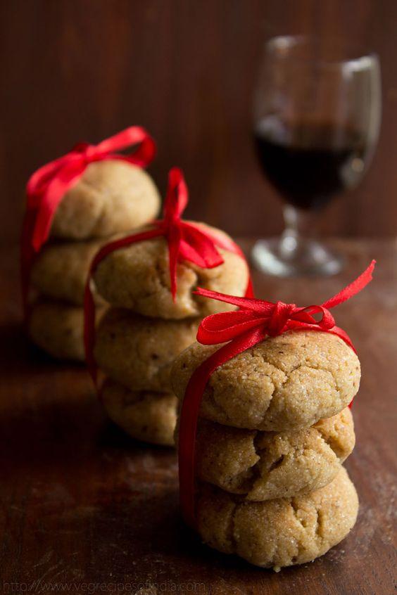 Whole wheat & semolina cookies