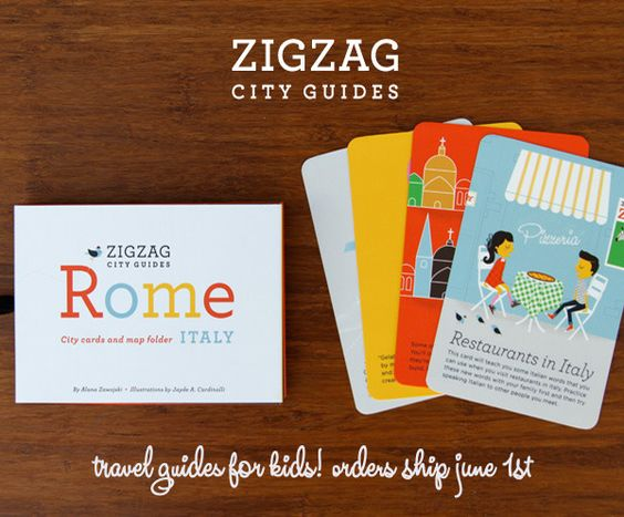 ZigZag city guides - cute gift idea for travelling parents