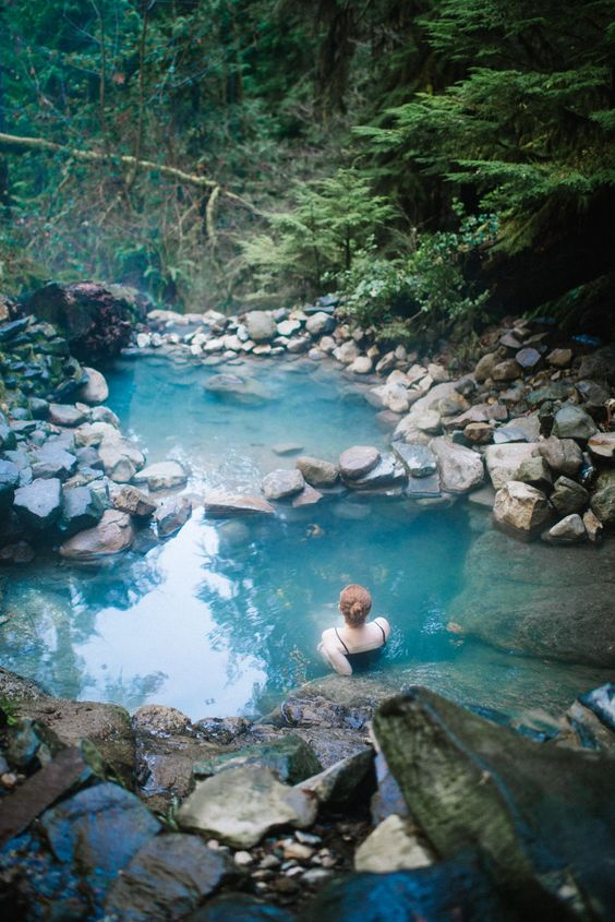Best Hot Springs Around the World that are Earth's Greatest Gift to Mankind The most magical place Ive ever been ((nomad)) Pacific Northwest | Oregon | Cougar Hot Springs