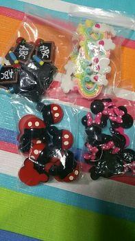 Tienda Online 10 Piezas de Resina Posterior Plana Cabochon Kawaii Minnie Con Arco Rojo DIY Flatback Scrapbooking Accesorios de Decoración Artesanía Hacer: 25mm | Aliexpress móvil