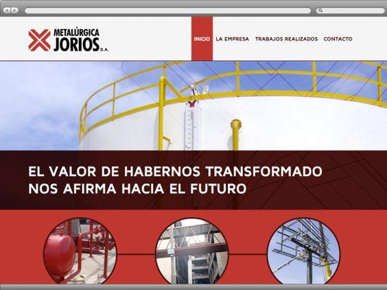 Querés ver el sitio web de una de las metalúrgicas mas importantes de ésta región? www.metalurgicajorios.com.ar Gozalo!