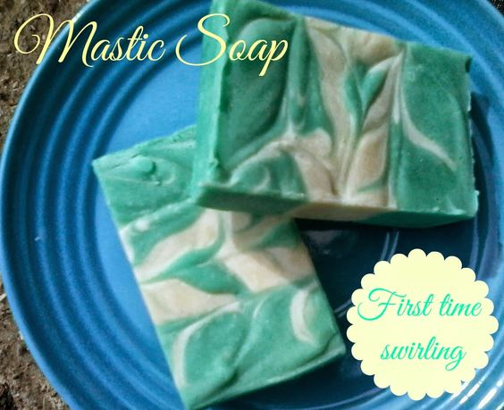 Soap Making Adventure: Greek Mastic, a natural fragrance for handmade soap