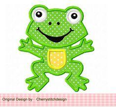 Hey, diesen tollen Etsy-Artikel fand ich bei https://www.etsy.com/de/listing/126199974/happy-frog-applique-4x4-5x7-6x10-machine