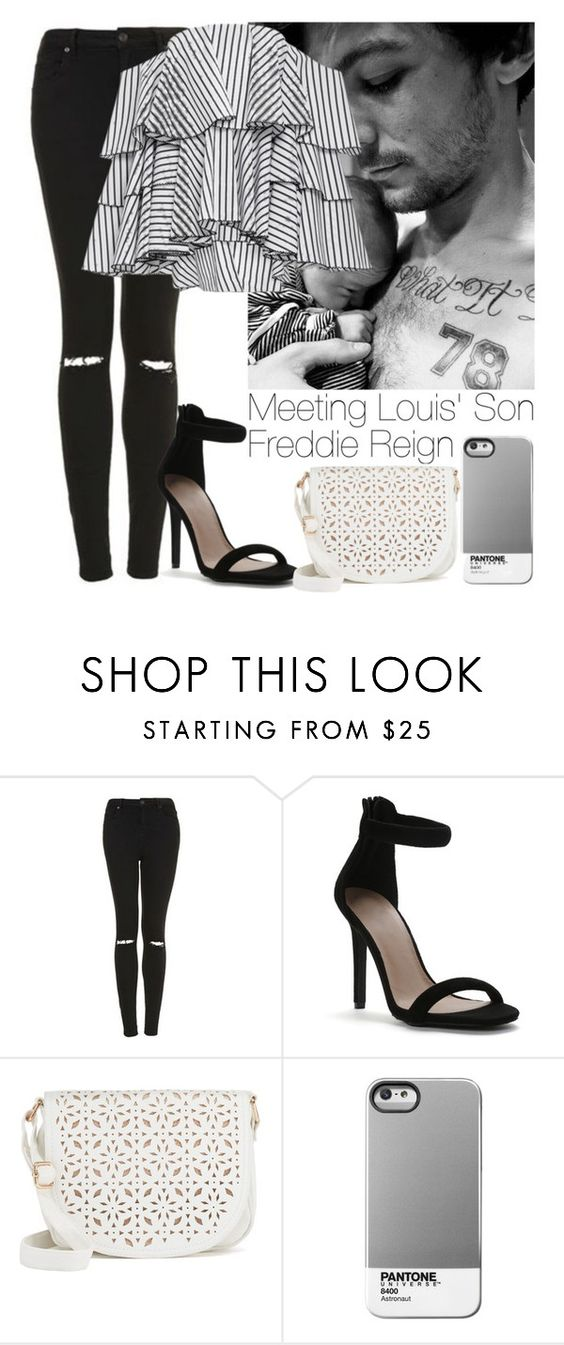 """Meeting Freddie Reign"" by lovatic92 ❤ liked on Polyvore featuring Topshop, Under One Sky and Caroline Constas"