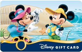 $200 Disney Gift Card Giveaway