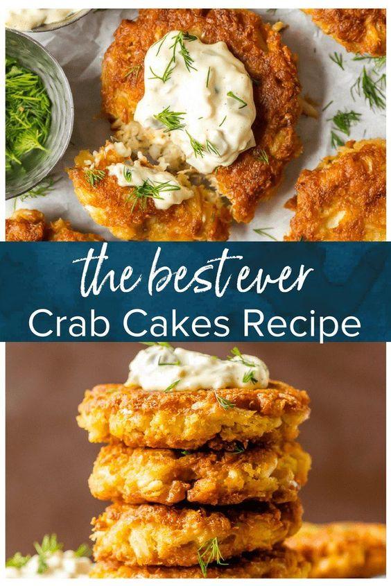 Best Crab Cake Recipe - Baltimore Crab Cakes {VIDEO}
