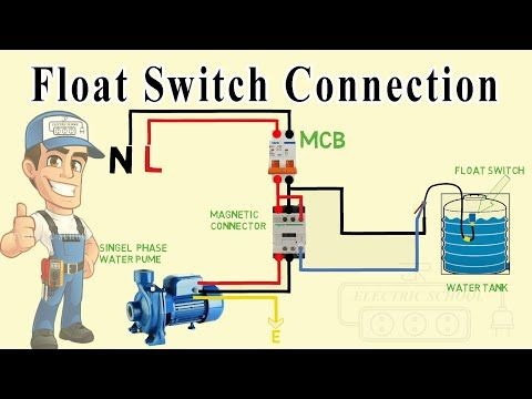 Float Switch Wiring Diagram For Water Pump Youtube Solar Powered Water Pump Electrical Circuit Diagram Water Pumps