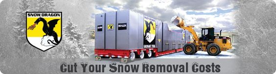 Cut Snow Removal Costs With A Snow Dragon Snow Melter