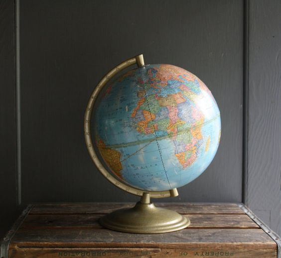 who doesn't want a globe?