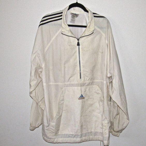 Men's ADIDAS Ivory Windbreaker Jacket Size 2XL https://t.co/i9alWeilnO https://t.co/tQk22fCFU3 http://twitter.com/Soivzo_Riodge/status/772071843146690560