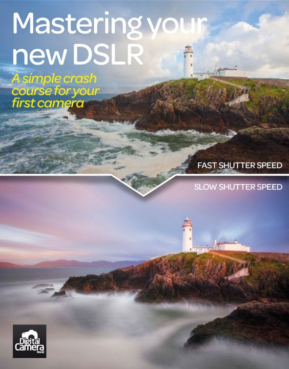 Whether you've just bought your first camera or just need to brush up on your shooting skills, we�ve got an all-in-one guide to getting to grips with your new DSLR.