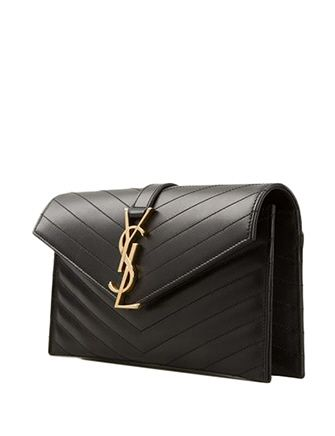 #SAINTLAURENT Saint Laurent Classic Monogramme Clutch