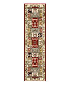 @Overstock - Make your family feel more at home in a new house with this 23 x 8 multicolored Oriental rug runner from the Lyndhurst Collection. It features a bold floral design, in a traditional pattern, to brighten up any hallway that needs a familiar touch.http://www.overstock.com/Home-Garden/Lyndhurst-Traditional-Multicolor-Ivory-Runner-23-x-8/2093653/product.html?CID=214117 $52.19