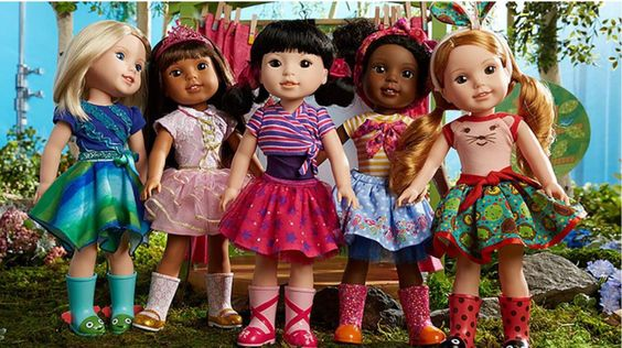 The New Wellie Wishers from Anerican Girl!! The dolls may be replacing the Bitty Twins!!