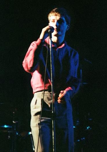 Ian Curtis. Joy Division @ De Montfort Hall, Leicester, 29 Oct 1979