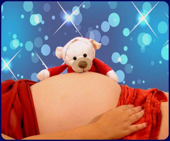 Foto de Maternidad, Navidad 2014 esperando a Fabrizio!!!