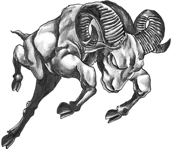 Aries Zodiac Sign Tattoos For Men