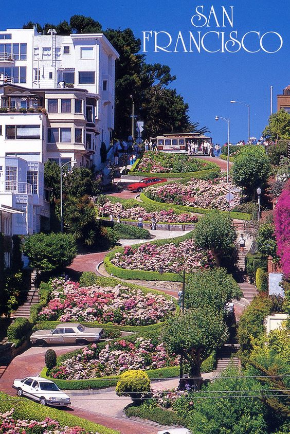 Beautiful Lombard Street And Old Mansions On Pinterest