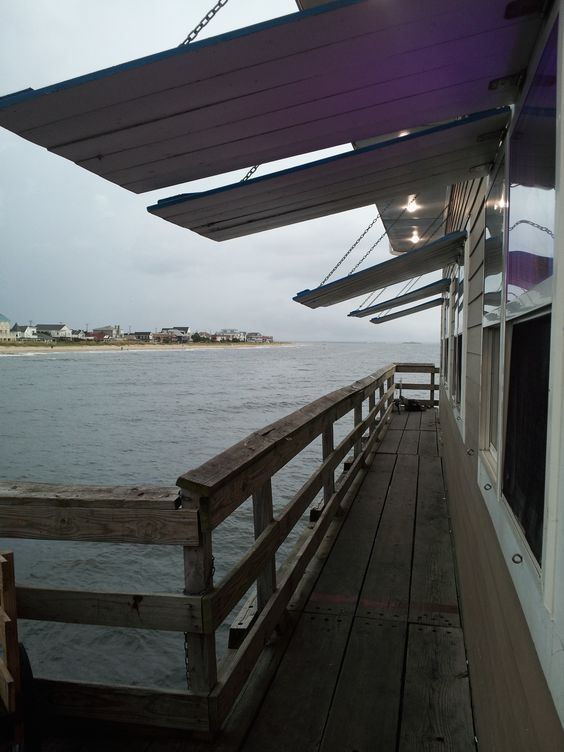 Ocean views norfolk and fishing on pinterest for Fishing piers in va
