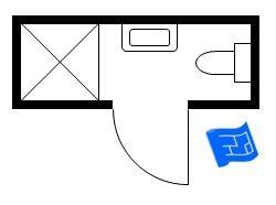 3ft x 9ft small bathroom floor plan long and thin with shower small bathroom floor plans Narrow rectangular bathroom design