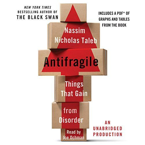 Antifragile Nassim Nicholas Taleb Fooled By Randomness Audio Books
