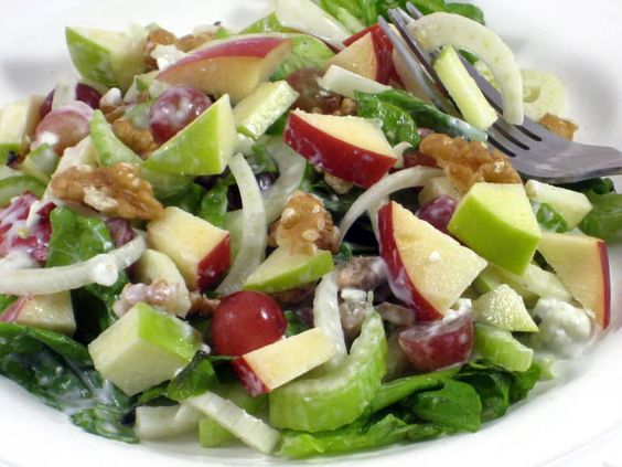 Wonderful Waldorf Salad Made Skinny | Waldorf Salad, Salads and Skinny