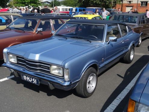 Ford Taunus Mk1 Coupe Musclecars Muscle Cars Blue Taunus