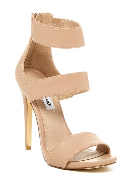 Steve Madden | Milyah High Heel Sandal | For women, Nude shoes and ...