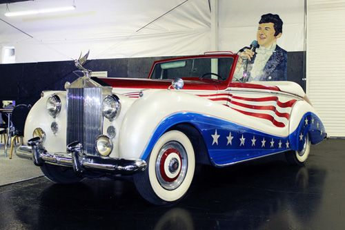 Liberace was the talented and flamboyant entertainer. See his Bicentennial Rolls Royce at the Liberace Garage in the Hollywood Cars Museum in Las Vegas.