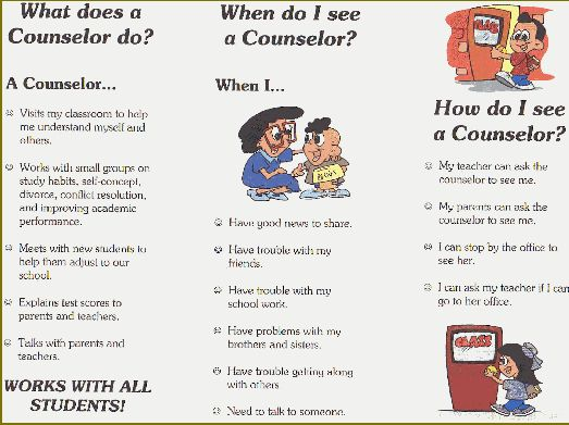 Guidance Counselor company literature examples