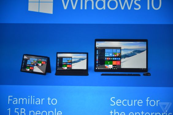 Live from Microsoft's Windows 10 event - The Verge