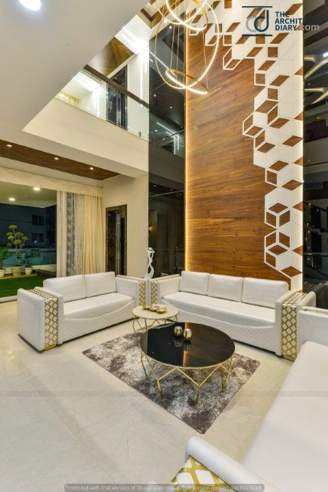 Living Room Duplex House Interior Design In India Wowhomy