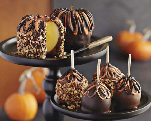 Halloween Caramel Apple